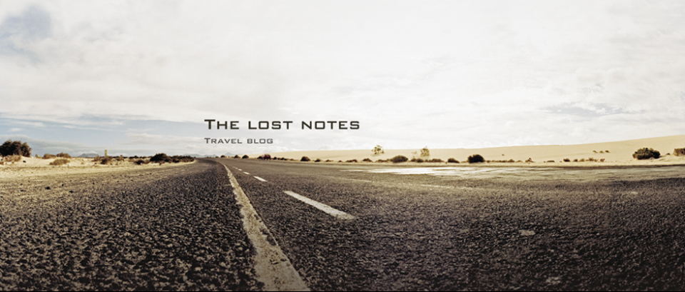 The lost notes - Travel Blog