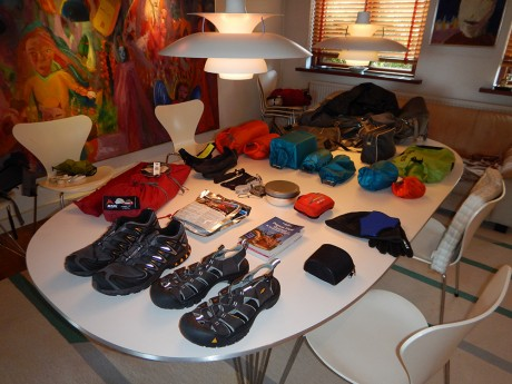 Packing for the South Pacific